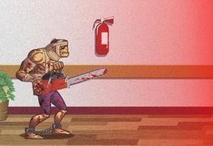 Zombie Warrior Man