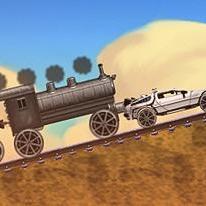 Back to The Future: Train Scene