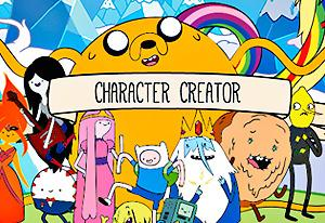 Adventure Time: Character Creator on Miniplay com