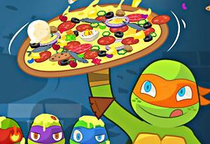 Teenage Mutant Ninja Turtles: Pizza Like A Turtle Do!