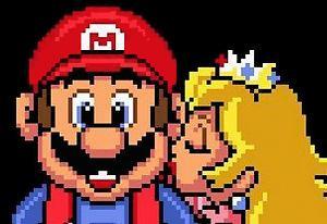 Super Mario save Peach