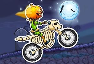 Moto X3M: Spooky Land