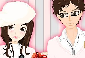 Valentine´s Day Dress Up Game