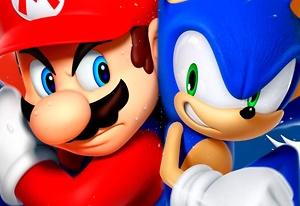 Sonic in Super Mario 64
