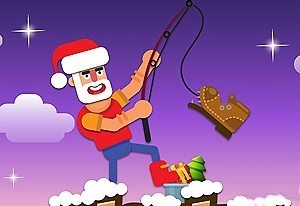 Christmas Fishing.io