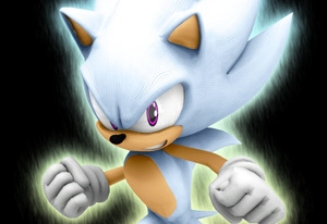 White Sonic in Sonic Knuckles