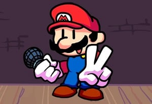 Friday Night Funkin' Mario