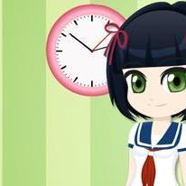 Little Manga Schoolgirl